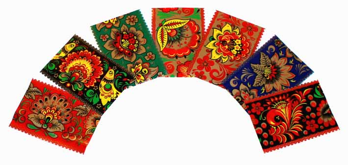 Decorations thermocollantes pour des oeufs de Paques